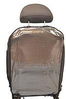 Накидка захисна Poputchik на спинку автомобільного крісла 44 х 65 см