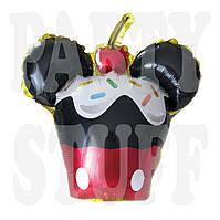 Фольгированный шар Кекс Микки Маус, 35 см