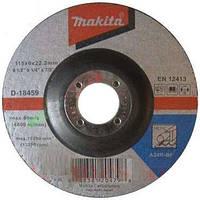 Диск шліфув. Makita 115х6х22мм 24R метал D-18459, фото 1