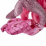 My Little Pony: The Movie глитерная Пинки Пай  русалочка с питомцем на светящейся подставке, фото 4