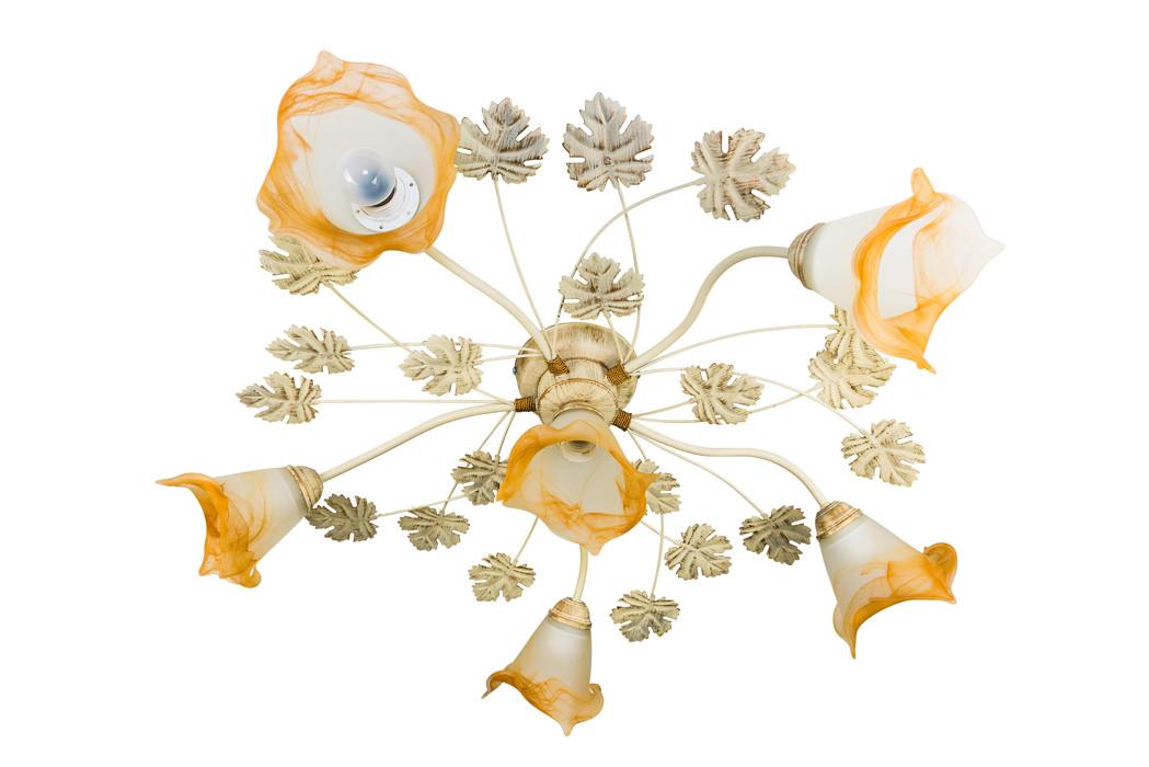 Люстра потолочная флористика 4401 Виктория