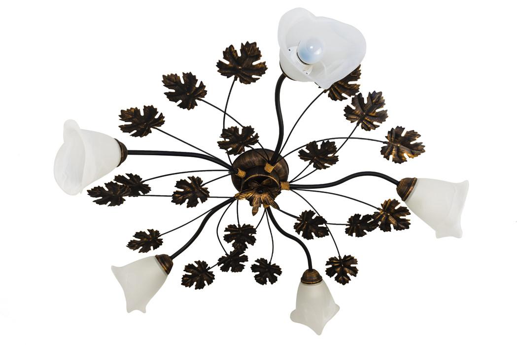 Люстра потолочная флористика 4402 Виктория