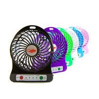 Аккумуляторный вентилятор настольный F002