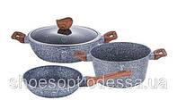 Набор посуды с антипригарным покрытием 4пр , фото 1