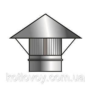 Искрогаситель для дымохода из нержавеющей стали 350 мм