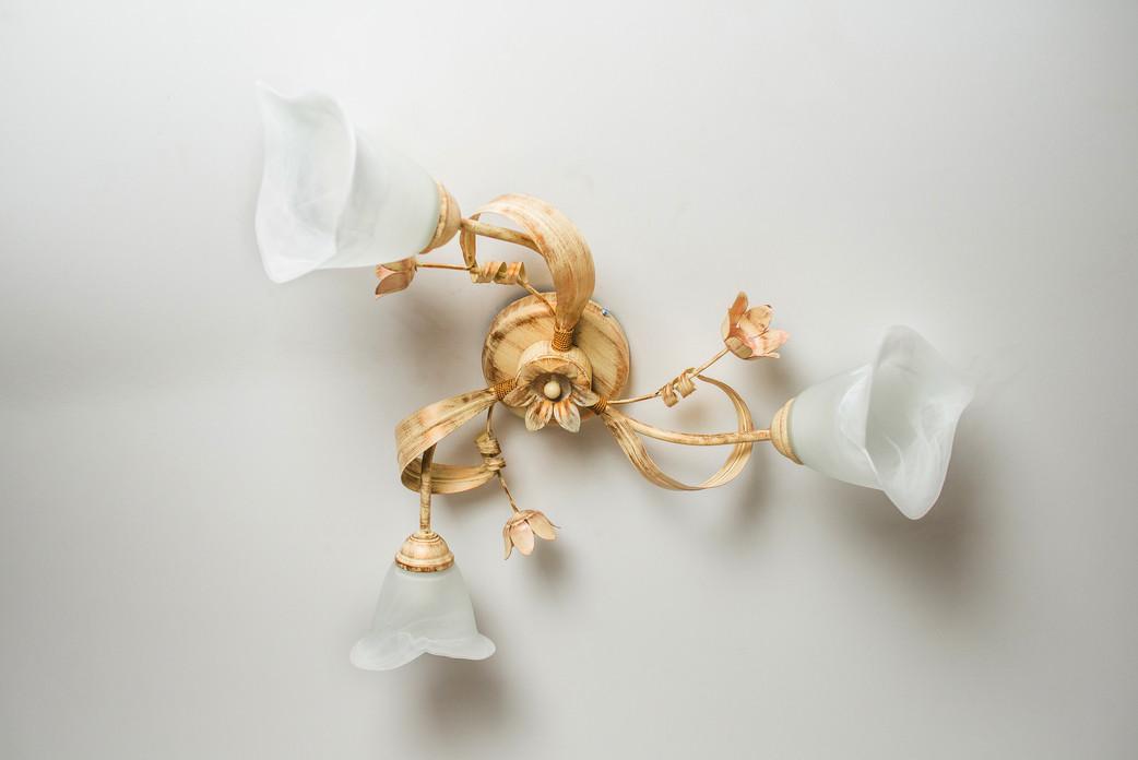 Люстра потолочная флористика 4504 Дана