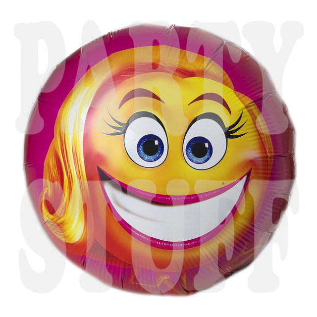 Фольгированный шар Мисс Смайлер