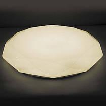 Світлодіодна LED люстра 36W з ПУЛЬТОМ Feron AL5200 DIAMOND, ефект зоряного неба, фото 3