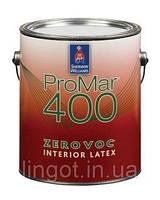 Краска SW Promar 400 ZERO VOC Interior Черный цвет(1G)