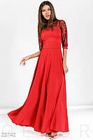 Роскошное длинное платье