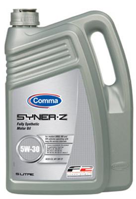 Синтетическое моторное масло Comma Syner-Z 5w-30