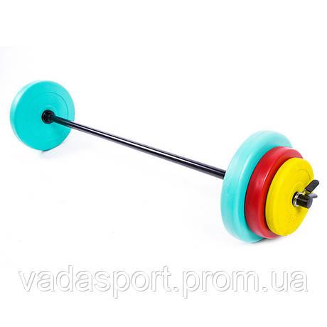 Фитнес штанга 20кг IronMaster IR93022A