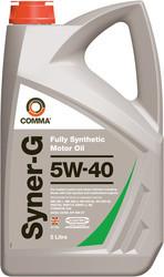 Синтетическое моторное масло Comma Syner-G 5w-40