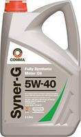 Синтетическое моторное масло Comma Syner-G 5w-40, фото 1