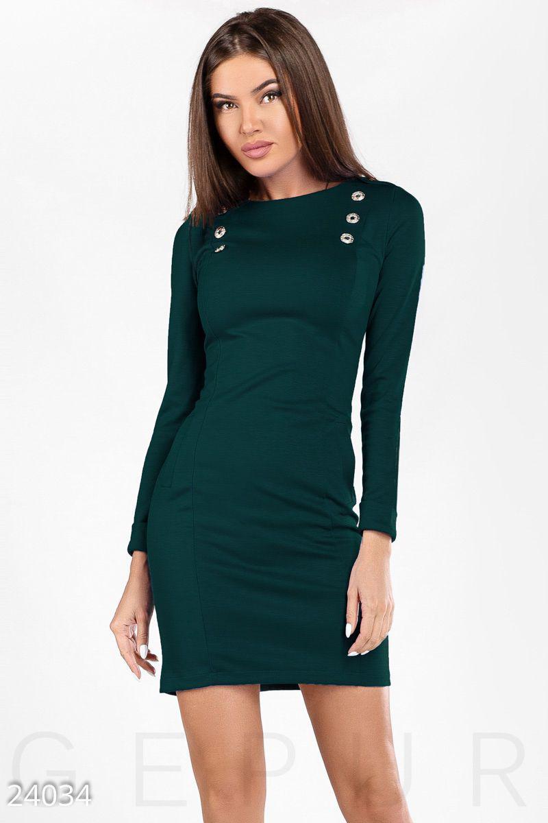 981183d1b2363e4 Платье с эполетами, цена 690 грн., купить в Мариуполе — Prom.ua (ID ...