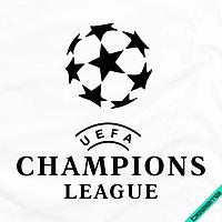 Наклейки на текстильные изделия Футбол [7 размеров в ассортименте] (Тип материала Матовый)