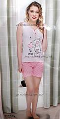 Хлопковые пижамы с шортами оптом по супер цене