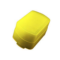Рассеиватель диффузор Canon 580EX YN560 565 желтый