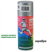 Краска аэрозольная акриловая ABRO 473мл. серебро