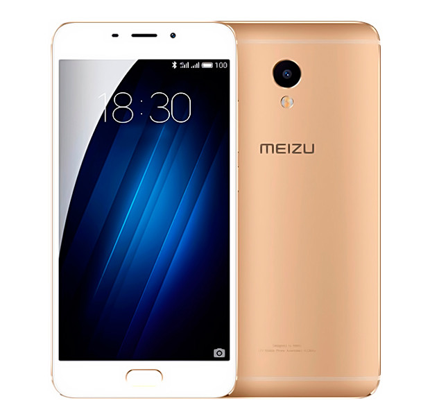 Смартфон Meizu M3E 3/32Gb Gold, 2 nanoSim
