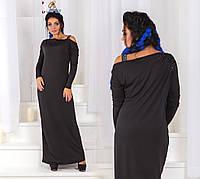 2c7c04108e9 Стильное платье в пол + батал