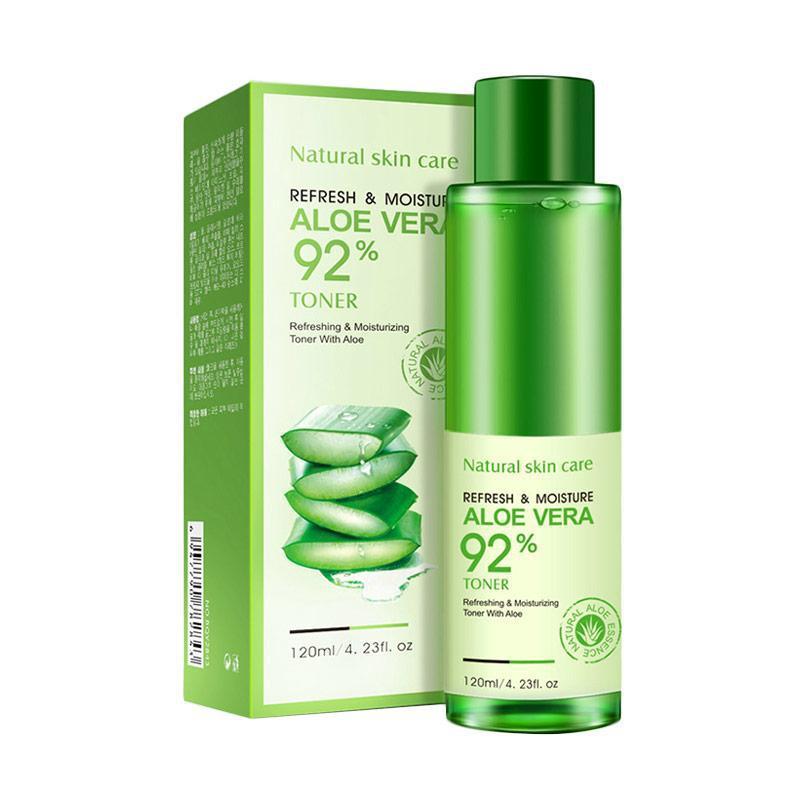 Увлажняющий лосьон-эмульсия с алоэ BIOAQUA 92% Aloe Vera Refresh&Moisture
