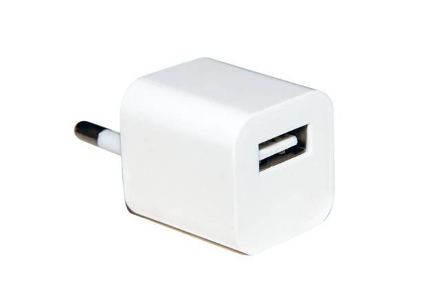Зарядное устройство Continent, White, 1xUSB, 5V / 0.8A, Shrink (ZN08-193WT/OEM), зарядка для смартфона, телефона, фото 2