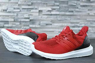 Мужские кроссовки Adidas Ultra Boost Red, фото 3