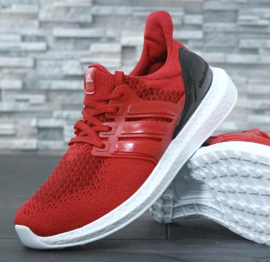 Мужские кроссовки Adidas Ultra Boost Red