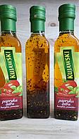 """KUJAWSKI - Рафинированное рапсовое масло """"Острая паприка,базилик,томат"""" 250 мл"""