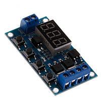 Циклический таймер времени с транзисторами XY-J04