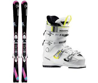 Лыжи горные ROSSIGNOL PASSION + крепления XPRESS W 10 B83 + ботинки KIARA 60 2018