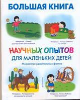 АСТ Большая книга научных опытов для маленьких детей Ванклив