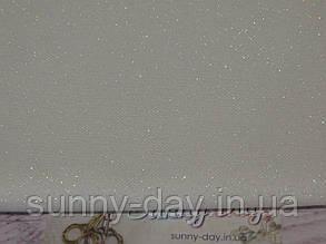 3984/11, Murano Lugana, колір - Pearl Flecked White/білий з перламутровим люрексом, 32 ct