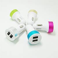 Прикуреватель-to-2*USB 2.1A-703