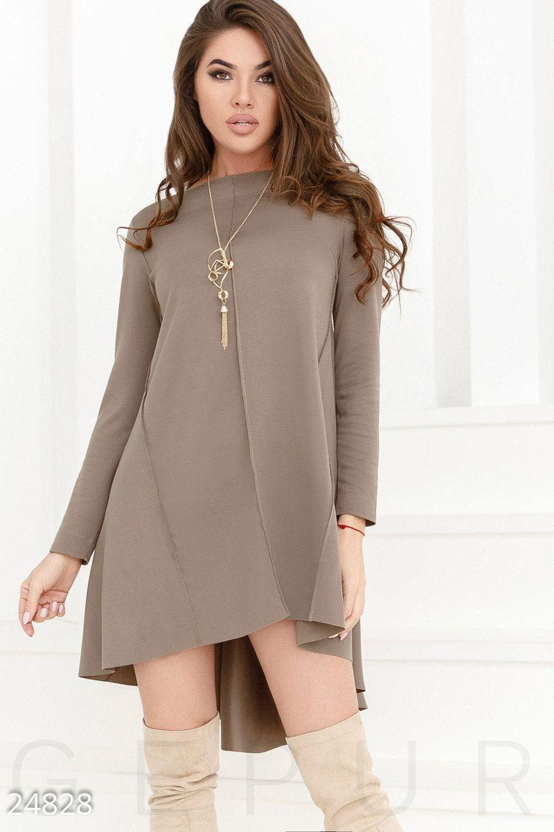 5ce0809bb2a6a13 Трикотажное платье-клеш, цена 800 грн., купить в Мариуполе — Prom.ua ...