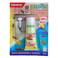 Гель от тараканов и муравьев GLOBAL в тубе (100g) для защиты