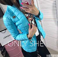 Женская легкая весенняя курточка Классик на молнии, фото 1