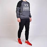 Мужской спортивный костюм Under Armour (Андер армор)   реглан и брюки на  манжете - 2f5364a4e5009