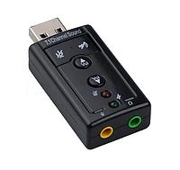 USB звуковая карта для ПК или ноутбука с кнопками