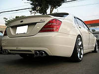 "Спойлер на крышку багажника стиль ""Lorinser"" на Mercedes S-class W221"