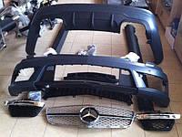 """Комплект обвеса """"AMG"""" на Mercedes C-class W204"""