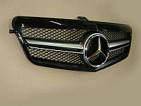 Решетка радиатора Mercedes E-class W212 2009-2013 Black