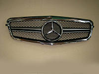 Решетка радиатора Mercedes E-class W212 2009-2013 Chrome