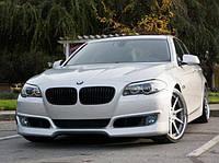 Накладка переднего бампера BMW 5-series F10 (стиль Schnitzer)
