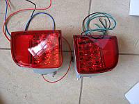 Задние противотуманные фонари (диодные) Toyota Land Cruiser 200
