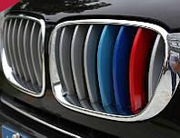 Накладки на решетку радиатора M-style BMW X5 F15 2014-2015