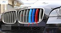 Накладки на решетку радиатора M-style BMW X6 E71 2012-2014
