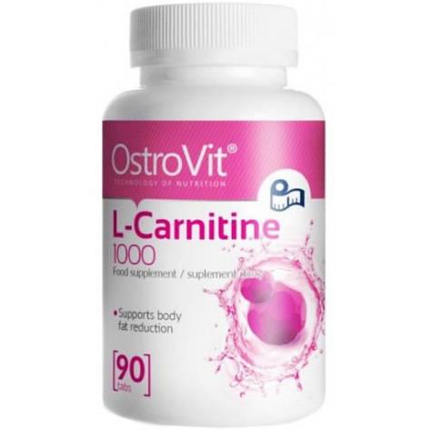 Жиросжигатель L-Carnitine 1000 90табл. OstroVit, фото 2