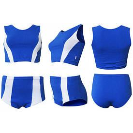 Форма для легкой атлетики м1 сине-белая